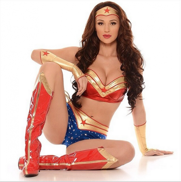 Wonder Woman on cover of Sports Illustrated