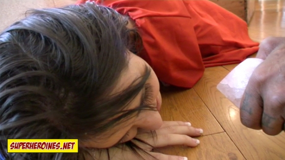 Jess West is in pain