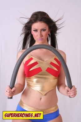 Laura Cogan as Wonder Babe