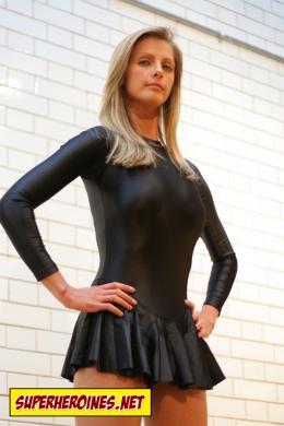 Shae as the super human Bionic Girl