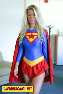 Superwoman Becky Middleton